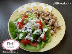 Cooking Recipes, Healthy Recipes, Cobb Salad, Food Processor Recipes, Healthy Lifestyle, Food And Drink, Yummy Food, Lunch, Ethnic Recipes