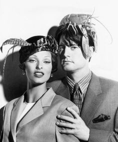 This is the left side of the spanking photo.  I'm going to frame this one for the wall too! -mm Kyle Maclachlan & Linda Evangelista