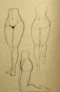 Female Leg Studies 02 by ~OliverBarraza on deviantART
