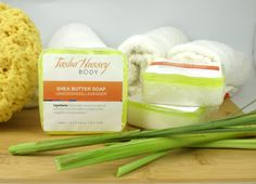 Lemongrass Soap Lemongrass and Lavender soap by TashaHusseyBody