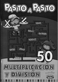 Pasito a Pasito: Multiplicación y División( lista de revistas completas)