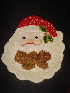 Sabines und Anjas Hobbyeck: Dattel-Nuss-Busserl Waffles, Breakfast, Food, Hobbies, Weihnachten, Baking, Morning Coffee, Meals, Waffle