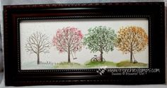 Sheltering Tree Wall Hanging by Frenchie Stampin' Up!
