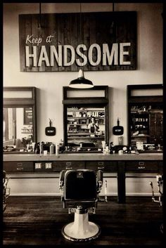 Great idea for a barber shop!