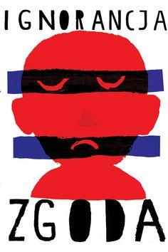 Kuba Kolodziejak, violence awareness poster