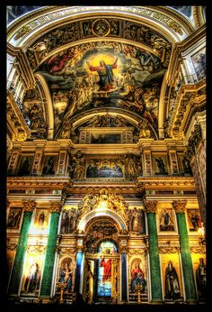 St. Isaac's Cathedral interior by ISIK5, via Flickr