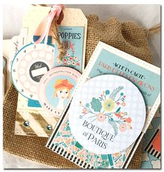Metro Girl Tags by Anabelle O'Malley   Supplies:   Metropolitan Girl 6x6 Paper Pad by Carta Bella Metropolitan Girl Affirmations Paper ...