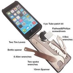 This iPhone case with 22 bike tools built-in ($20) | 21 Insanely Clever Products You Need For Your Bike