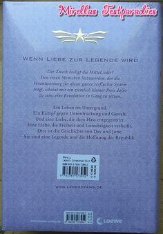 Die Rückseite des zweiten Bandes Schwellender Sturm der Legend Trilogie.