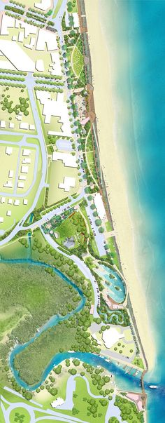 Yeppoon Foreshore Revitalisation by TCL #australia #yeppoon #QLD #TCL #landscape #architecture #design #concept #lagoon #pool