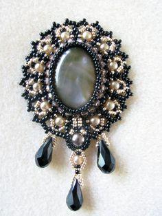 Muster für Schnürung Halskette Lady Violet  von TrinketsBeadwork
