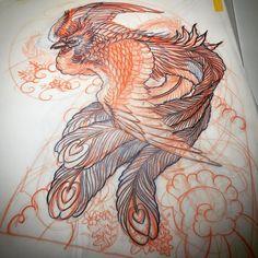 鳳凰 鳳凰 , You can find Phoenix and more on our website. Tatoo Phoenix, Phoenix Drawing, Small Phoenix Tattoos, Phoenix Tattoo Design, Phoenix Design, Japanese Pheonix Tattoo, Japanese Sleeve Tattoos, Best Sleeve Tattoos, Tattoo Design Drawings