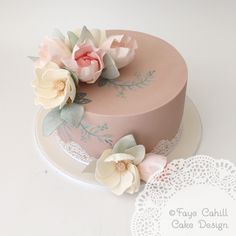 Faye Cahill Cake Design 60th Birthday For Ladies Women Elegant