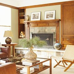 Before and After: Fireplaces
