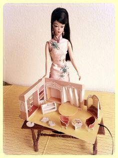 Vintage Barbie Fashion Shop Miniature scale by DutchBarbieWorld, €50.00