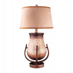 AM-10940-1 - 30-inch Earth Tone 1-Light Table Lamp by Ambience Lighting