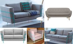 Modern Sofa's perfect for investment properties, rentals, business & home - All from just $50 CLICK TO BID HERE: https://www.lloydsonline.com.au/AuctionLots.aspx?smode=0&aid=6234&pgn=1&pgs=100&gv=True&utm_content=buffera2c8e&utm_medium=social&utm_source=pinterest.com&utm_campaign=buffer