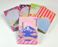 わ、コレ欲しい!!ご利益ありそうな雰囲気ムンムン、富士山柄のモダンな御朱印帳『GOSHUINノート』