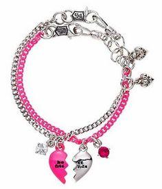 Juicy Couture Best Friends Necklace Lt 3 Friend Bracelets Bff