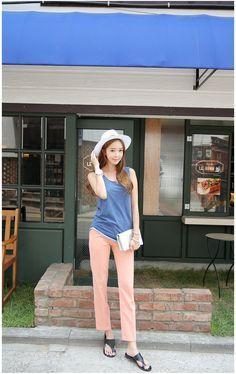 Stick Candy Pants    Korean Fashion