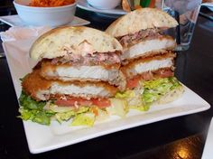 "Crispy Pork Sandwich from ""Crave"" – El Paso, Texas 