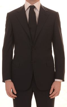 """BRIONI Hand Made """"NOMENTANO"""" Navy Blue Super150's Wool Business Suit 48 NEW 38"""