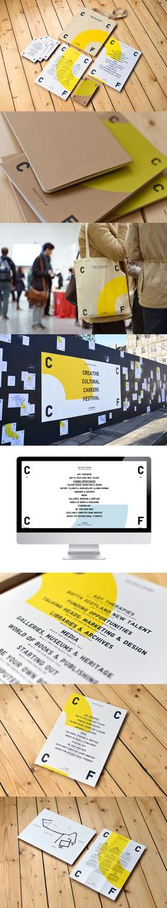 Brand identity, promotional material, guerilla marketing and website for a creative week-long festival. http://www.warriorsstudio.com/projects/cccf/#