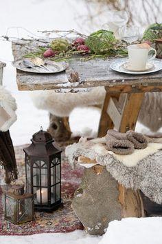 Fresco winter table