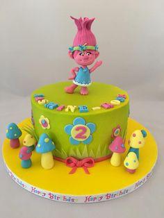 Trolls Poppy cake - Cake by The Cat's Meow