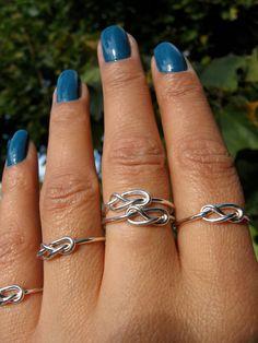 4+Silver+Infinity++Rings+45+Dollars+Best+Friends+by+Esteverde,+$45.00