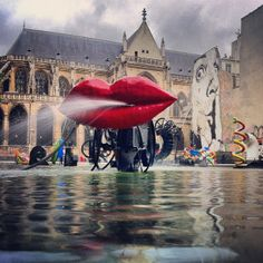 Want to see some weird modernist outdoor water sculptures? You won't be disappointed. It's located right outside of the modern art museum, Le Pompidou. Paris Destination, Destination Wedding, Museum Of Modern Art, Art Museum, Jean Tinguely, Water Sculpture, Kinetic Art, Disappointed, Over The Years