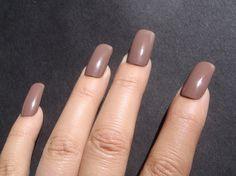 unghie finte bianco marrone cioccolato nail art halloween unghie artificiali smalto natale compleanno nail celeb squadrate lasoffittadiste