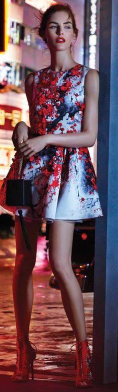Street fashion for fall chic. Elisabetta Franchi Fall/Winter 2015-16