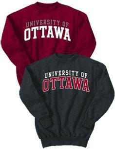 Product: University of Ottawa Crewneck Sweatshirt