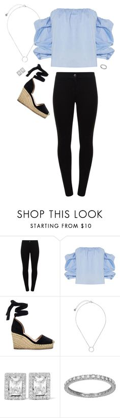 """""""Sienna"""" by slutify ❤ liked on Polyvore featuring Patrizia Pepe, Bardot, Raye, Pieces and Kenneth Jay Lane"""
