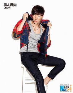 Chinese model Zhang Liang