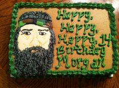 Duck Dynasty Phil cake