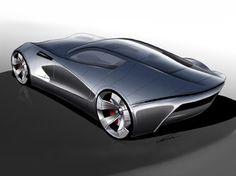 Aston Martin DB-ONE Concept   - Car Body Design -