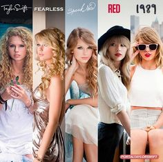 Taylor Swift's Albums.
