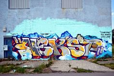 Nekst with his standard straight letters adding some color to the mix.