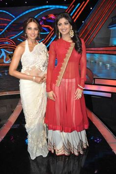 Bipasha in Shehlaa Khan & Shilpa Shetty in Anand Kabra on Nach Baliye