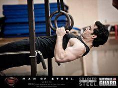 Henry Cavill training in Gym Jones