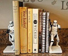 Star Wars Stormtrooper Decorative Bookends