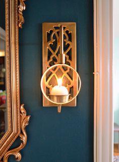Wall Lantern Mirror Walls And Antique Brass On Pinterest