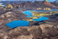 Breathtaking Aerial Landscapes of Iceland by Sarah Martinet - Cube Breaker Aerial Photography, Landscape Photography, Nature Photography, Graffiti, Street Art, Iceland Landscape, Aerial Images, Colossal Art, Fantasy Places