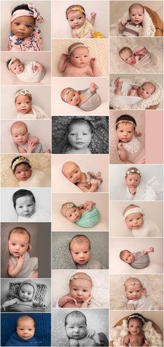 open eyed newborn shots, awake newborn portraits