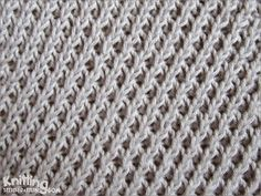 Right Diagonal stitch  |  Easy to knit and easy to remember  |  Knitting Stitch Patterns