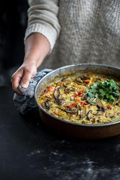 Baked Mushroom Curry