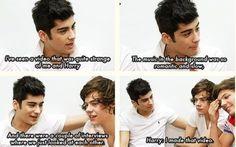 """""""Harry: I made that video...."""" BAHAHAHAHA Zayn Malik Harry Styles One Direction"""