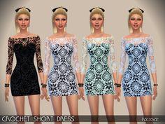 Paogae's CrochetShortDress